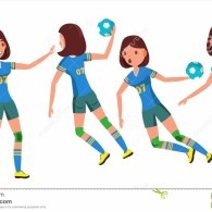 handball-female-player-vector-playing-different-poses-woman-attack-jump-shooting-athlete-isolated-young-girl-throws-ball-118959150